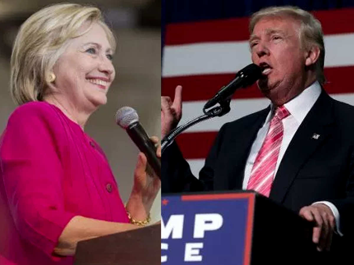 Five takeaways from Clinton and Trump's big money month