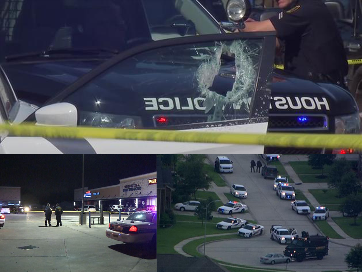 Shooting in Houston left 9 wounded