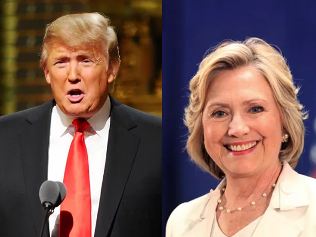 Clinton-Trump went head-to-head for their debut debate