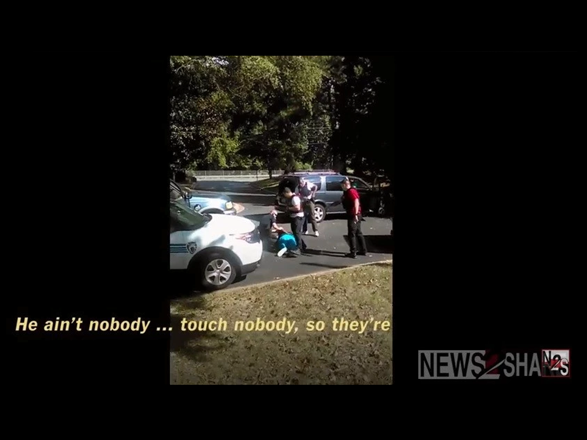 VIDEO: New video released Keith Lamont Scott's Shooting