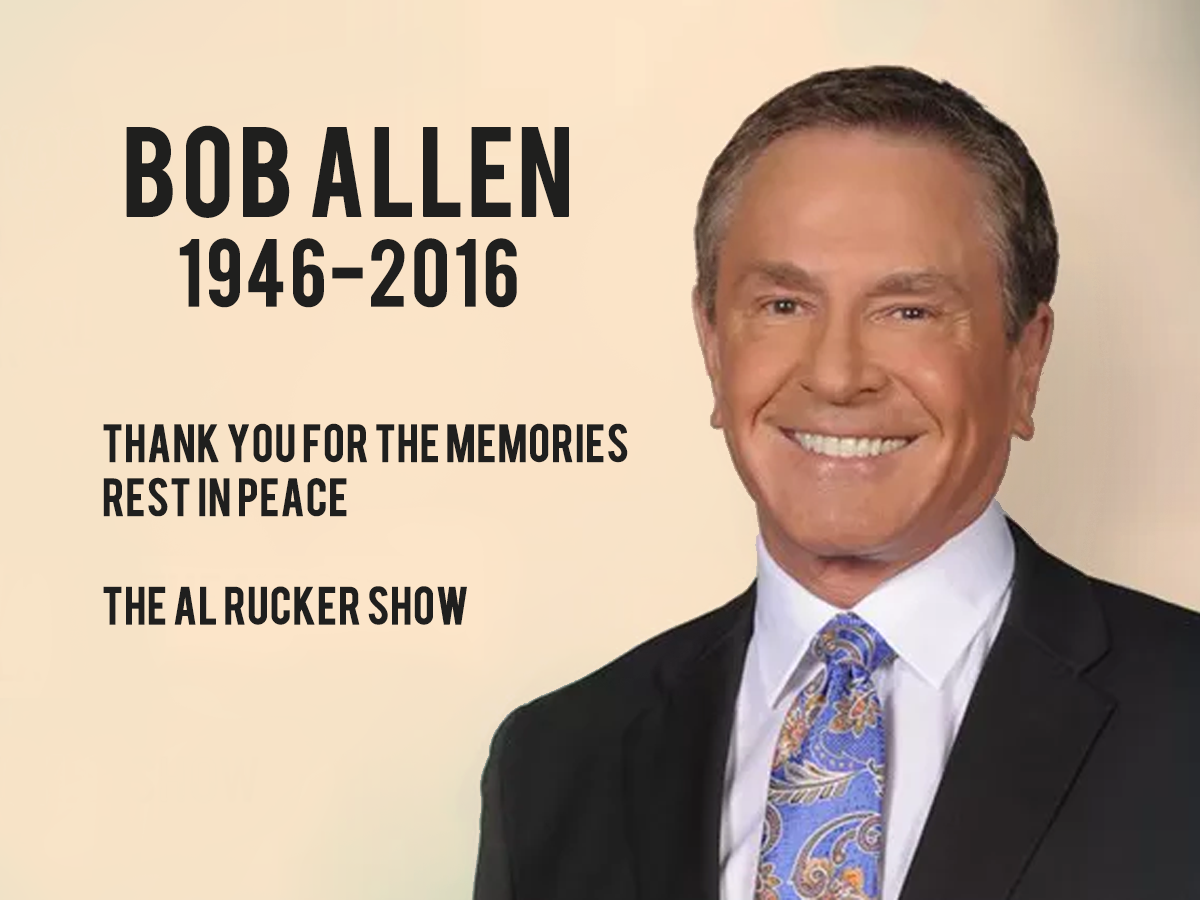 Bob Allen- Houston's own beloved sports anchor of 41 years has passed