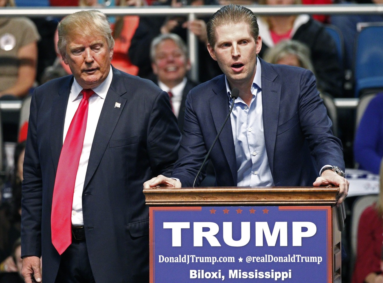 Eric Trump: My Father Paid 'Tremendous Amount of Tax'