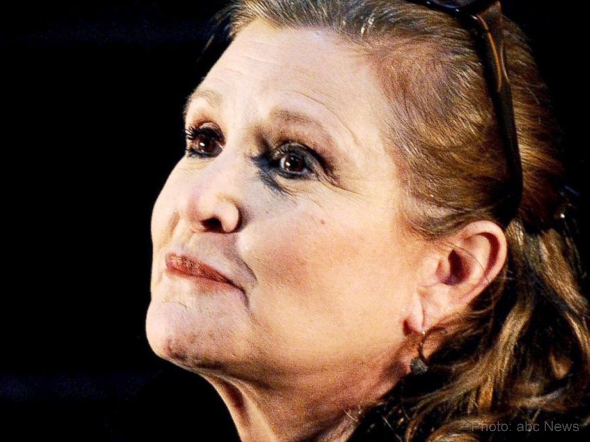 Star Wars Royalty Carrie Fisher dies at 60
