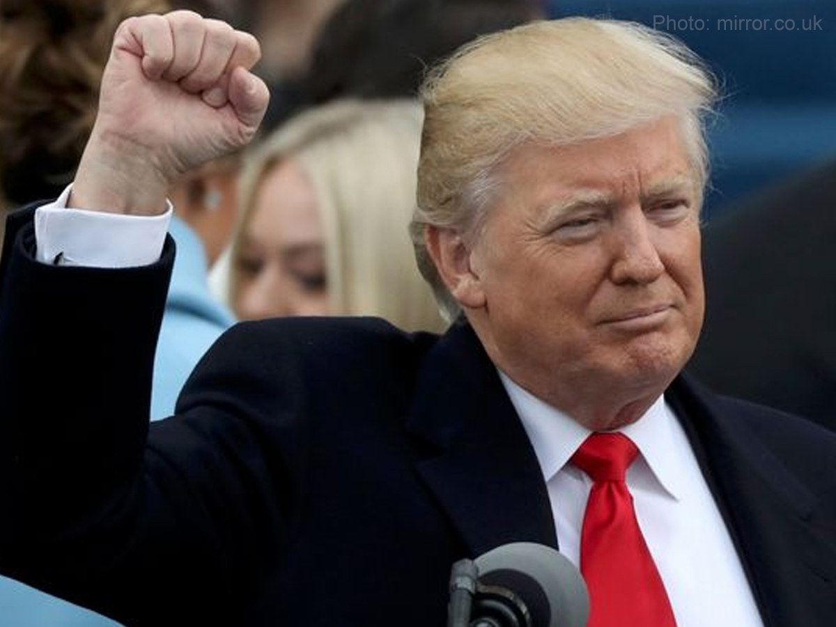 Donald Trump takes oath as 45th President of the United States