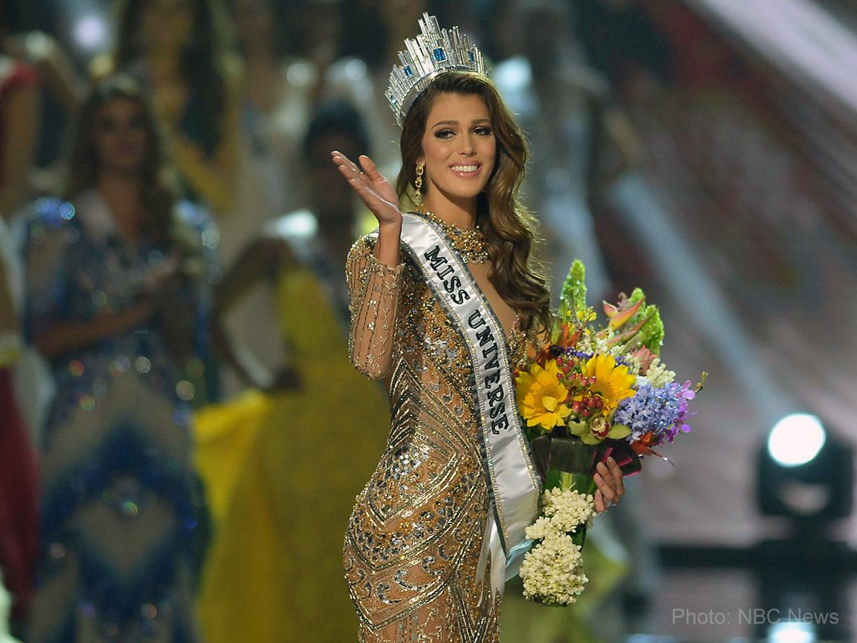 Miss France hails as Miss Universe 2017
