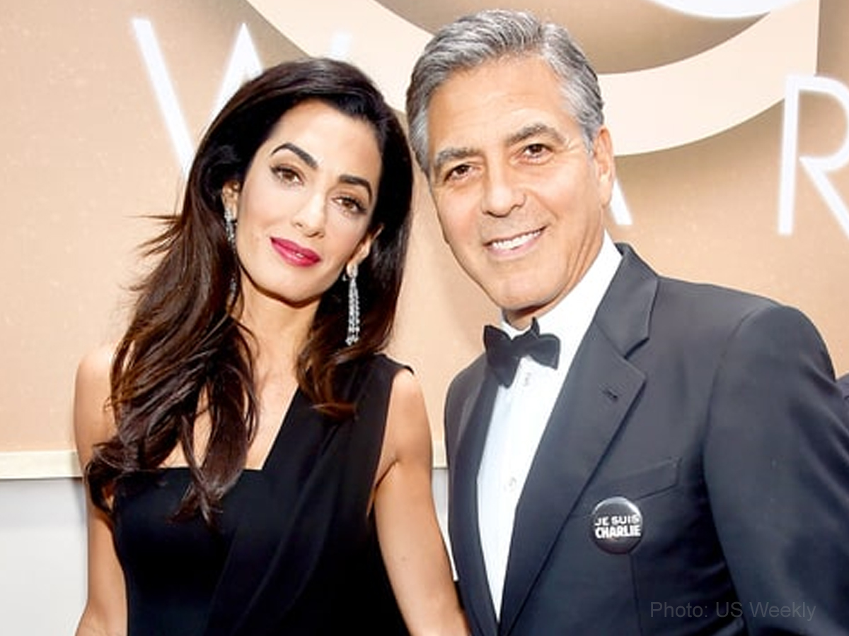 George Clooney and Amal Clooney's double delight