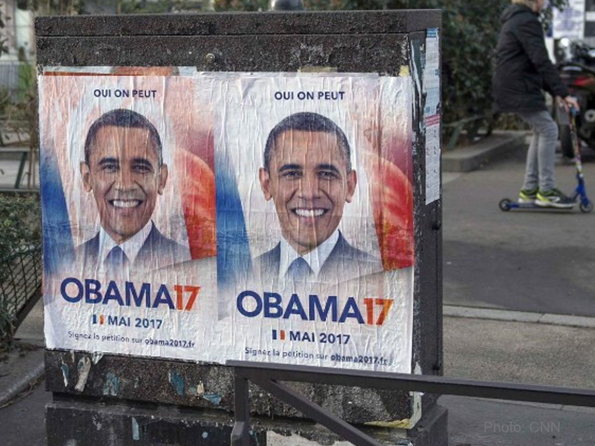 France wants Obama for President