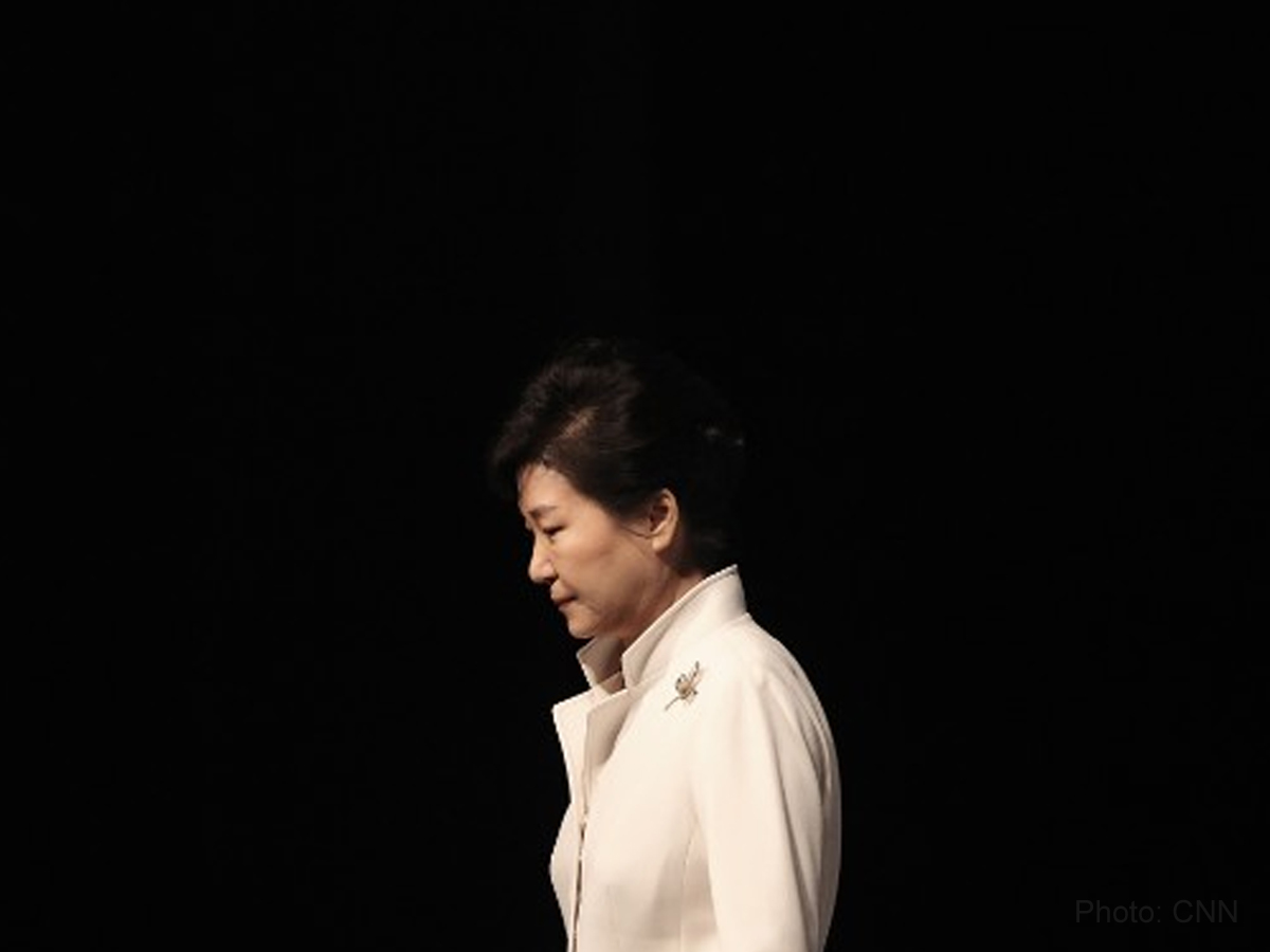 'I will accept all the results' – former South Korea President Park Geun Hye
