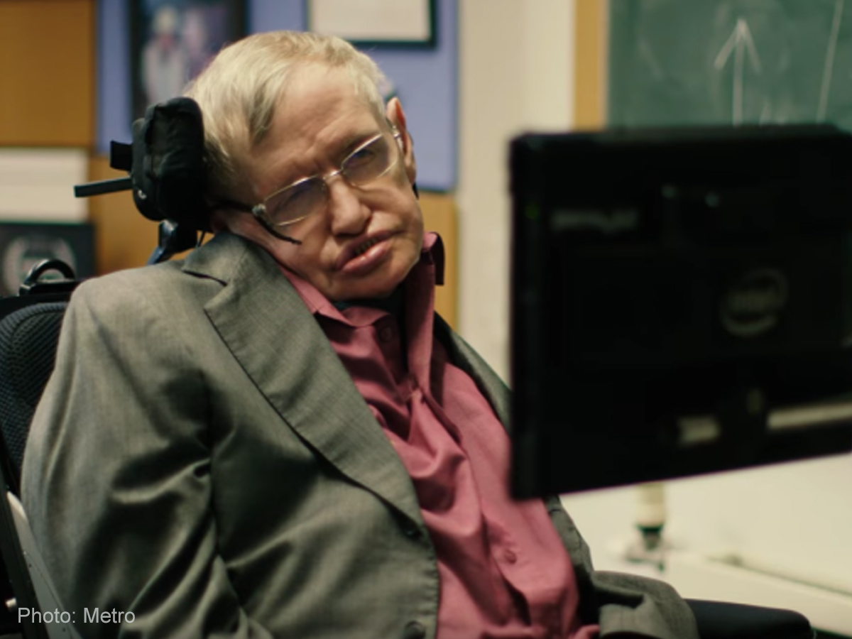 WATCH: Stephen Hawking holds audition for his new voice
