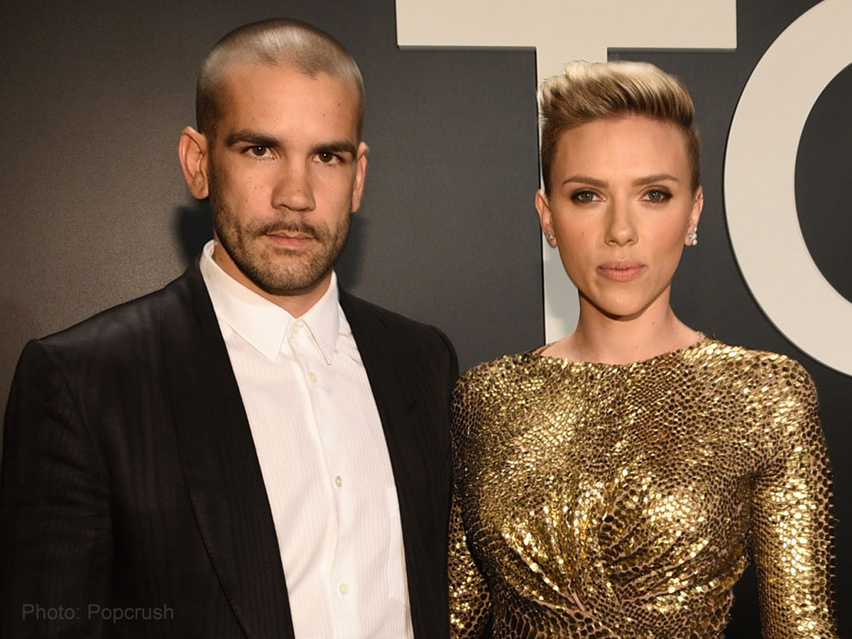 Scarlett Johansson keeps her mouth shut on divorce with Romain Dauriac