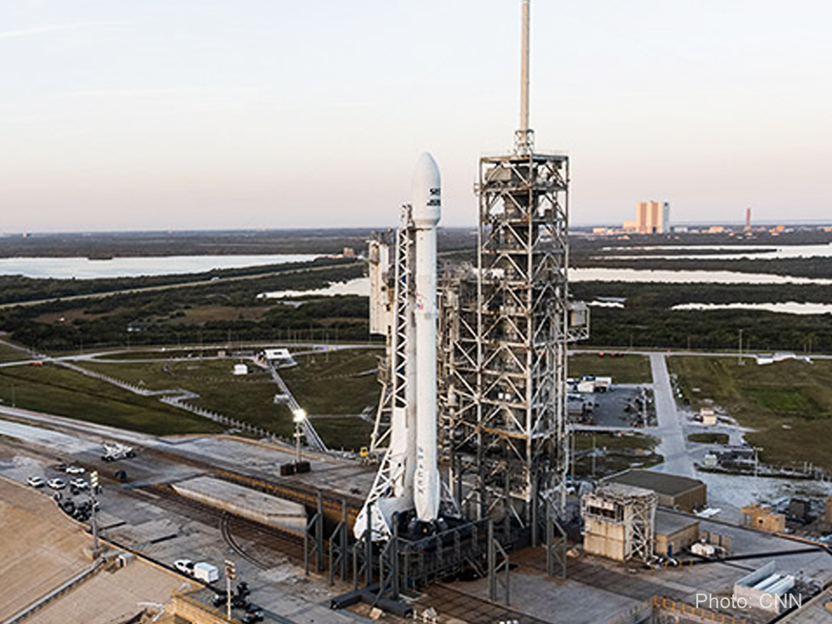 SpaceX lands historic Falcon 9 mission