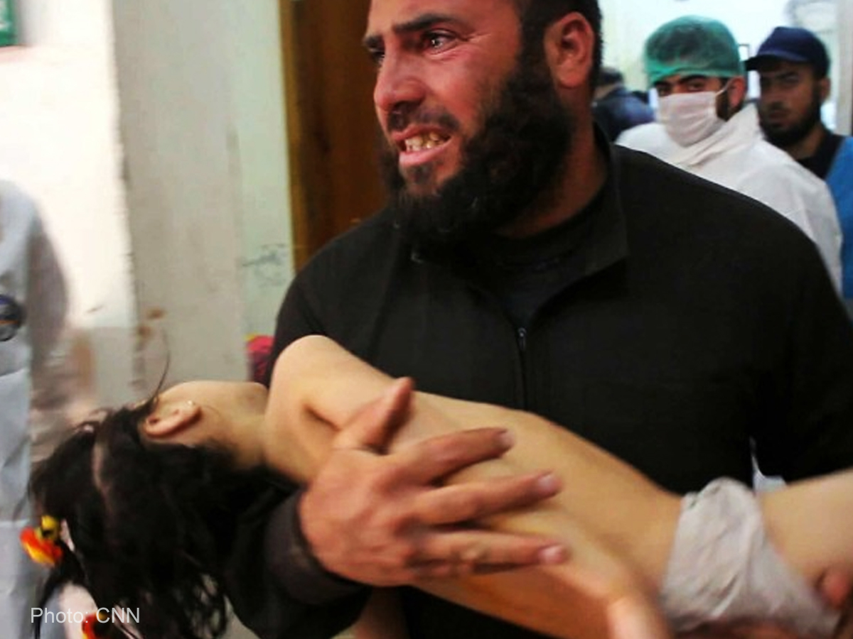 Death toll in Syria gas attack reaches 70