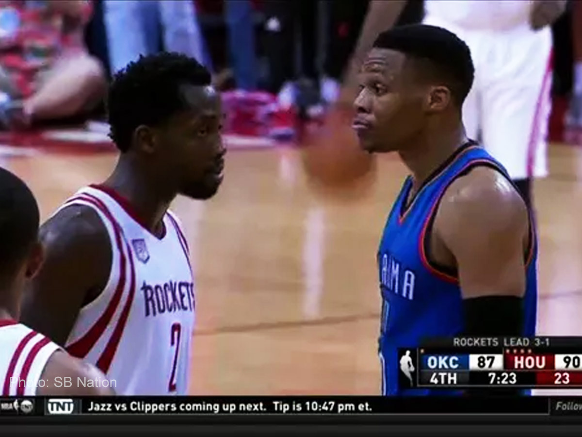 Beverly, Westbrook's beef resurface in Game 5