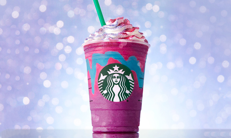 The sweet sorcery of the Unicorn Frappuccino