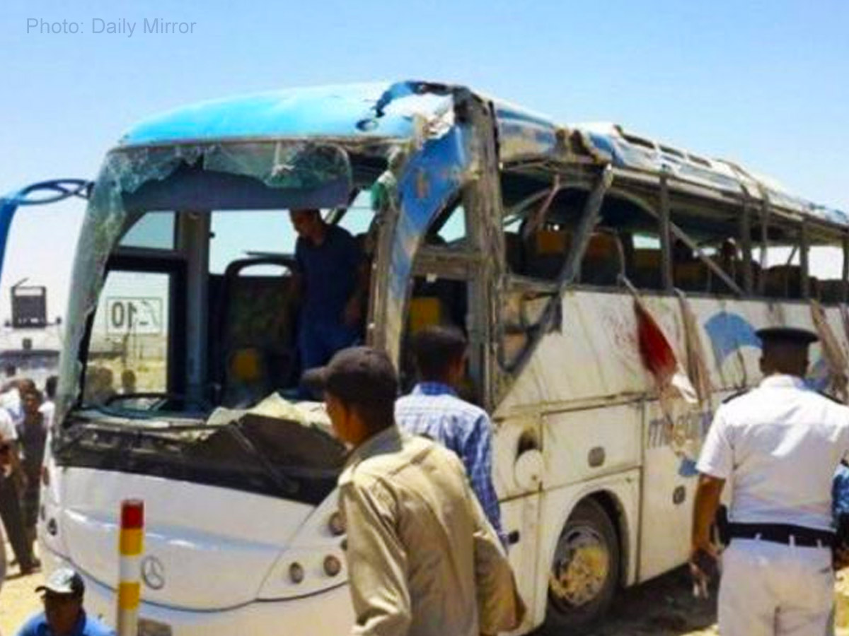 28 dead, 22 wounded in Egypt bus attack