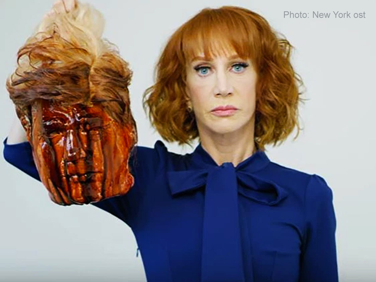 WATCH: Kathy Griffin apologizes for Trump 'beheaded' photoshoot