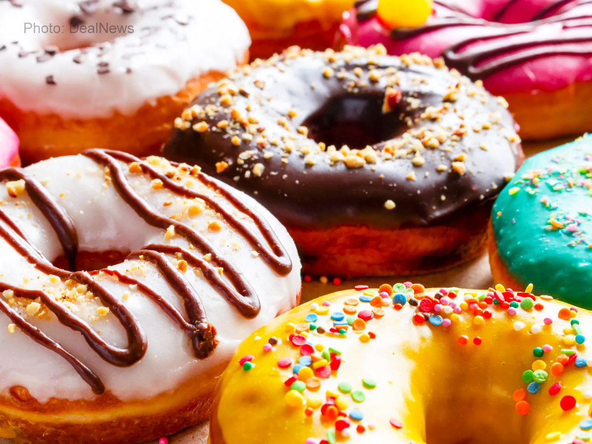 Free donuts for everyone on #NationalDonutDay