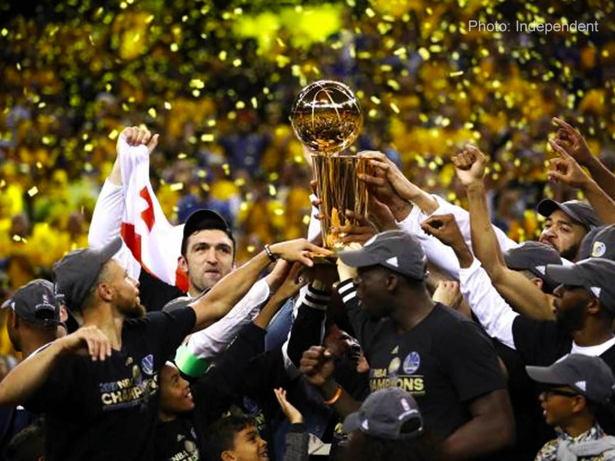 Golden State Warriors conquer NBA Finals '17, 4-1