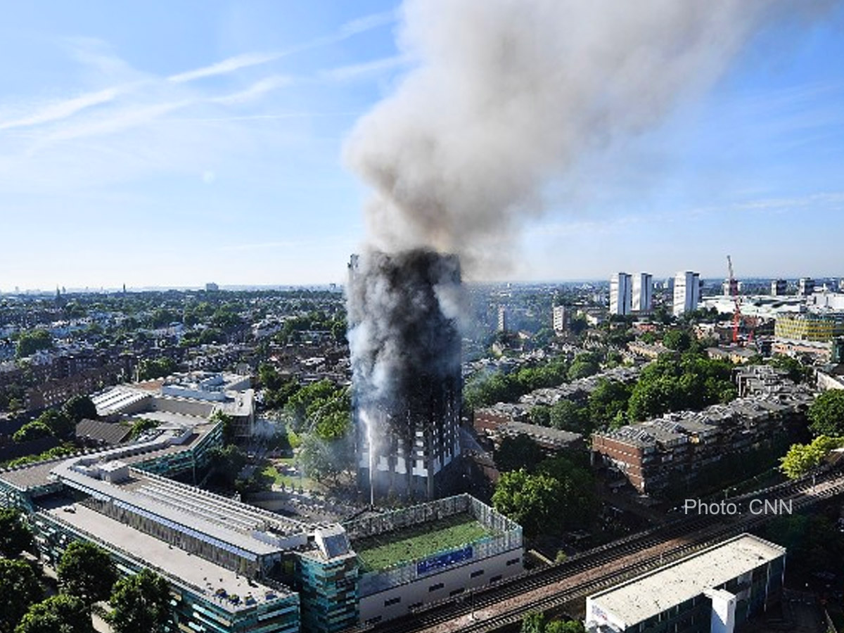 London fire death tally reaches 17