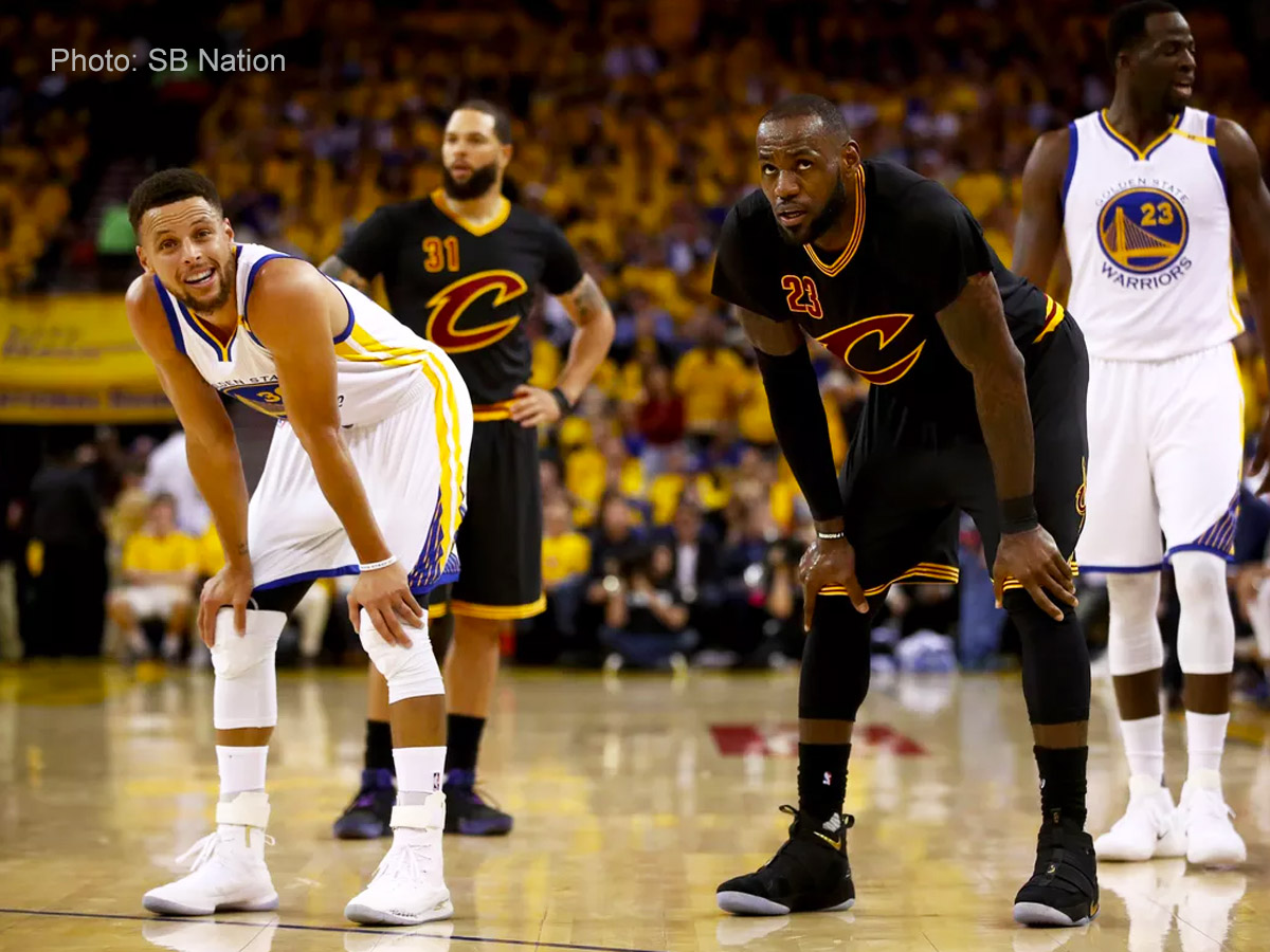 Warriors own Game 2 of NBA Finals, 2-0