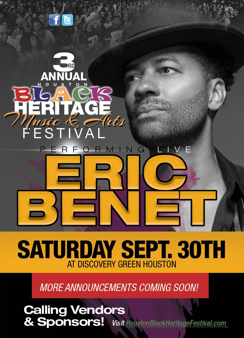 Event Alert:  Black Heritage Music and Arts Festival Returns to Discovery Green