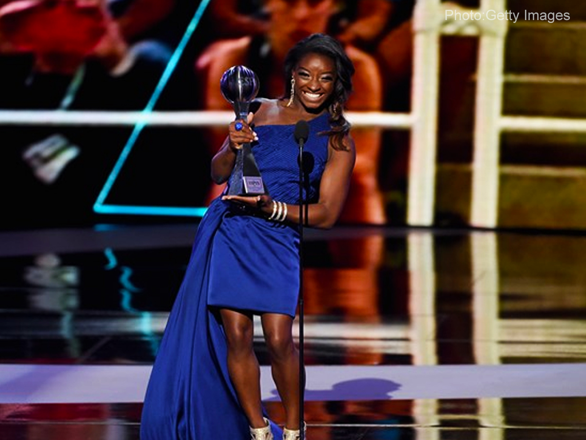 ESPY Awards honor Biles and Westbrook as best athletes of the year