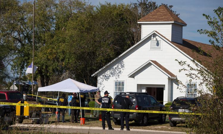 26 killed, gunman dead in Texas church shooting