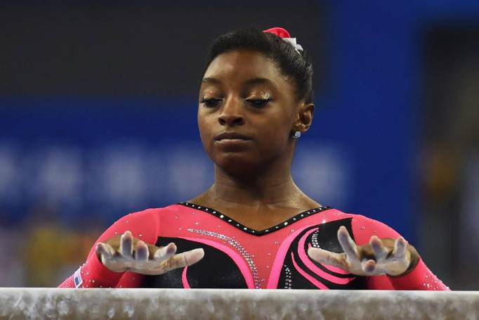 Simone Biles speaks up as sexual harassment victim