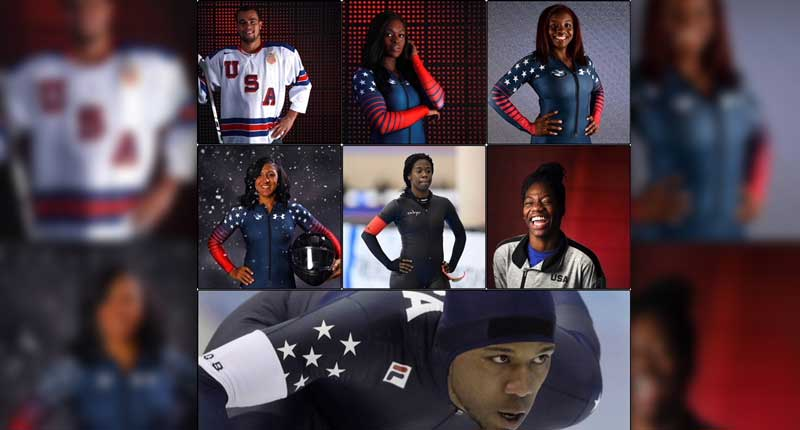 Black Athletes are making History at the 2018 Winter Olympics