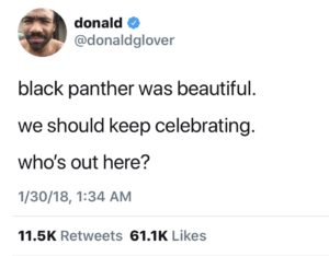 Black Panther First Reactions Tweets (2)