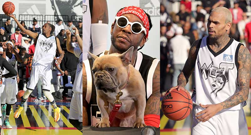 Celebrities-Support-Adidas-Two-Day-All-Star-Weekend-Event