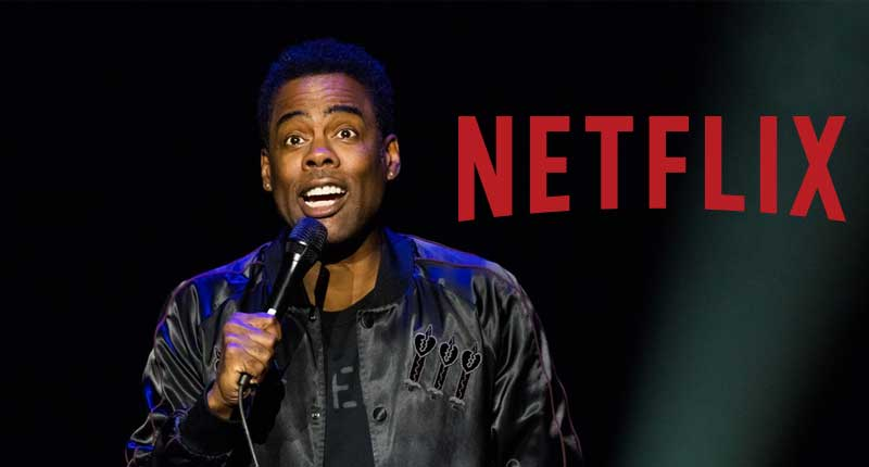Chris Rock Laughs and Love with Netflix