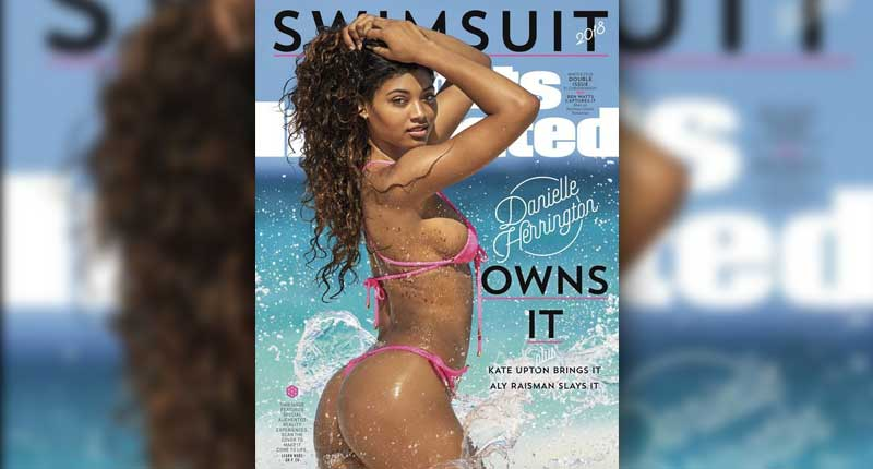 Danielle Herrington becomes Third Black Woman to grace Sports Illustrated Swimsuit cover