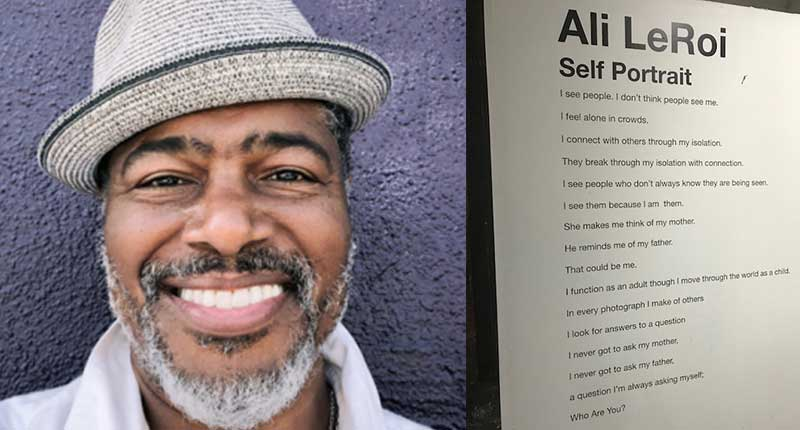 Emmy Winner Ali LeRoi Reveals His Photography in His First Ever Art Gallery Show