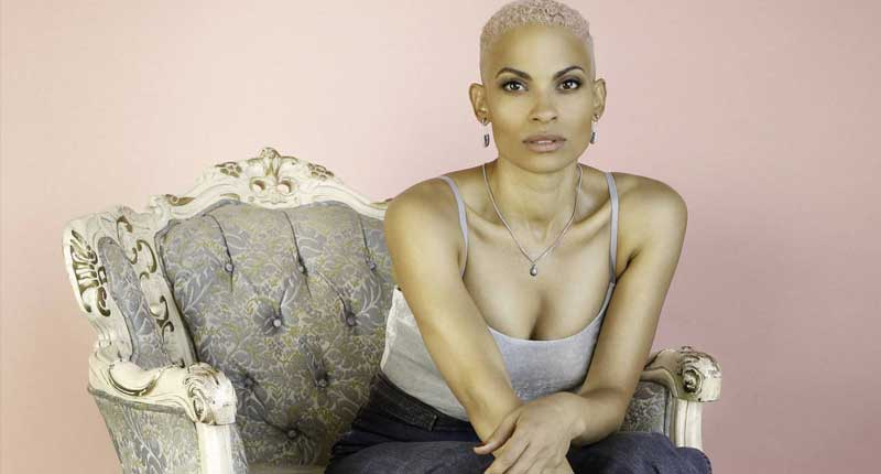 Goapele Shines at the Theatre at Ace Hotel in Los Angeles