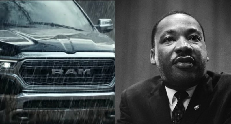 Dodge Ram Truck Super Bowl Ad uses Dr. Martin Luther King Jr. speech draws complaints