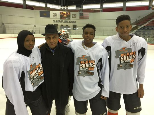 (SPORTS) NHL LEGEND SUPPORTS RGE YOUTH