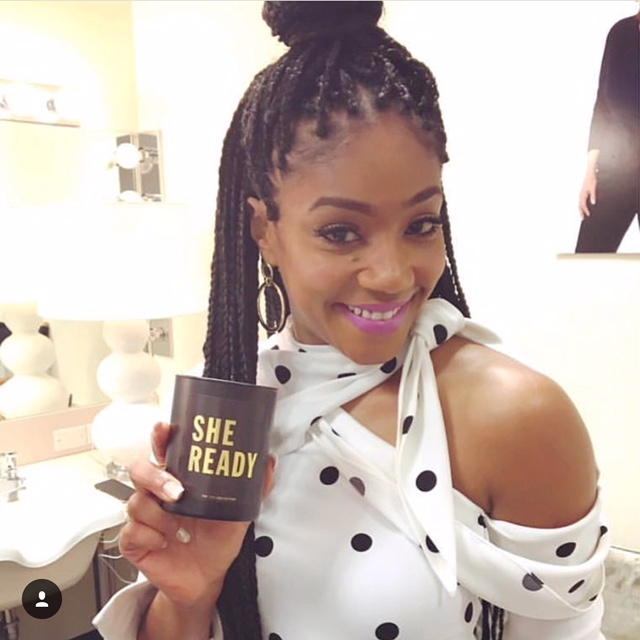 Tiffany Haddish - Posting MTV Host Announcement 2-24-2018