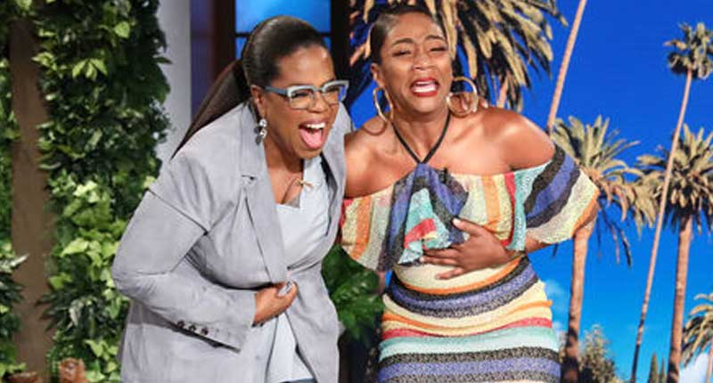 When Oprah Comes to Town Everything Shuts Down, Tiffany Haddish Just So Happened to Breakdown