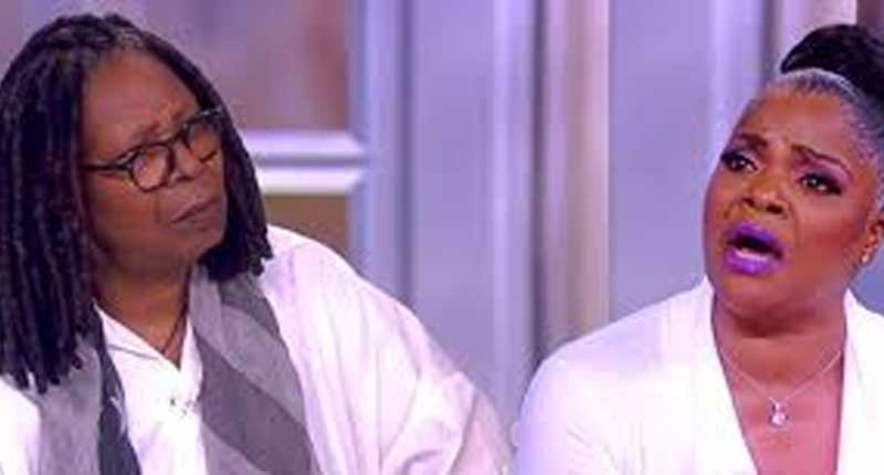 Whoopi and Mo'Nique Have Tense Moment on The View