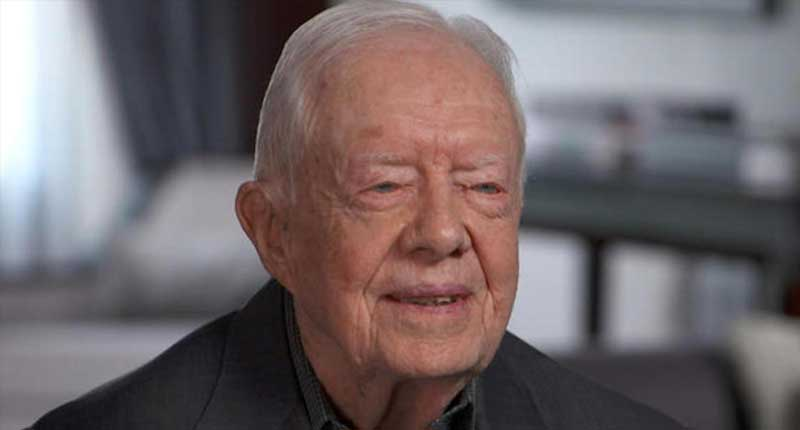 Former President Jimmy Carter Criticizes Trump's Decision to Hire Bolton