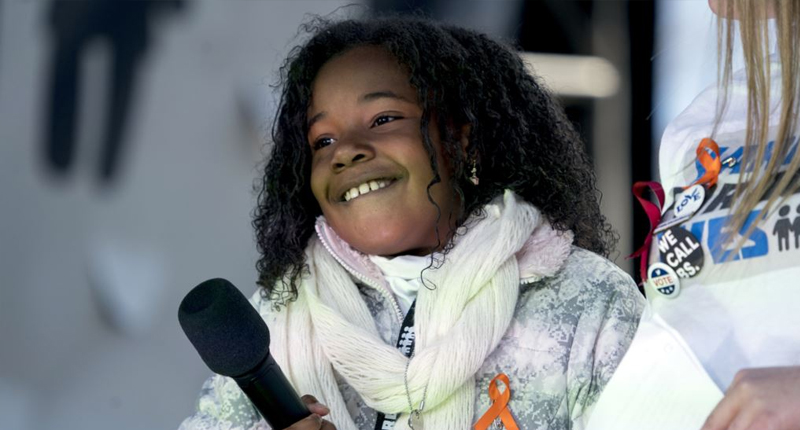 Martin Luther King Jr.'s Granddaughter Speaks at March for Our Lives in Washington