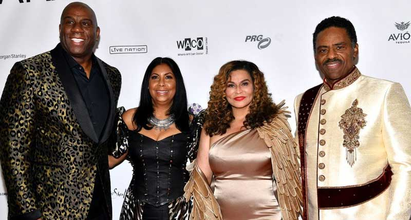 Tina Knowles-Lawson Host from 'Waco to Wakanda' Theme Party