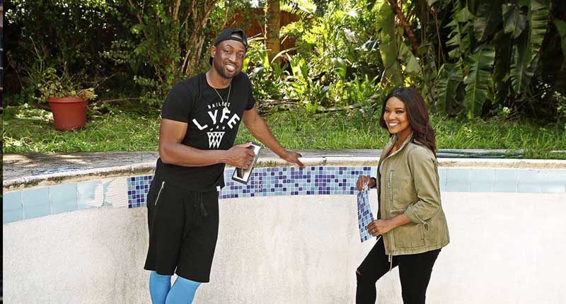 Gabrielle Union and Dwyane Wade on HGTV New Special 'All-Star Flip'