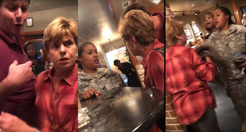 Georgia Woman who Assaulted Black Pregnant Soldier Arrested