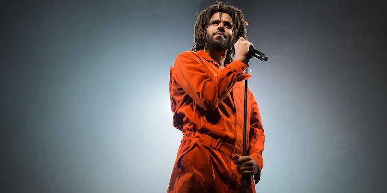 J Cole Makes Surprise Visit at Oak Cliff Back-To-School Event