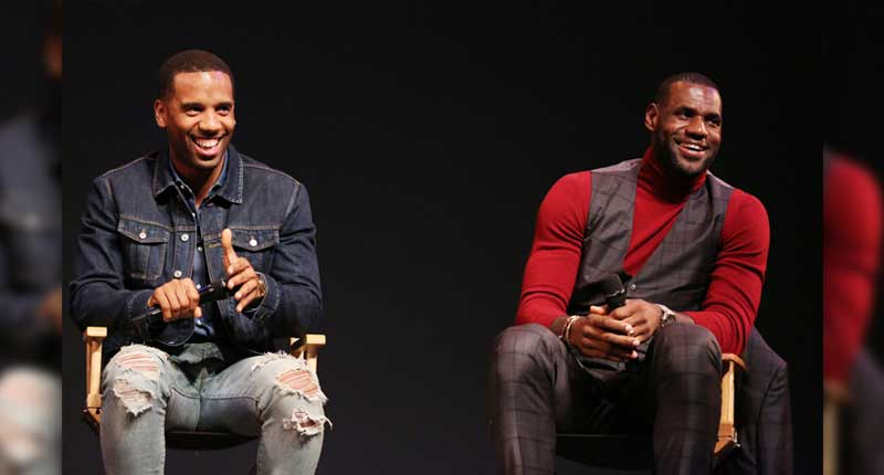 Lebron James and Maverick Carter Producers of 'Rise Up: The Movement that Changed America'