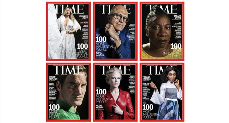 Jenifer Lopez, Tiffany Haddish and Tarana Burke Amongst Others Land 'Time' Magazine The Most 100 Influential People Cover