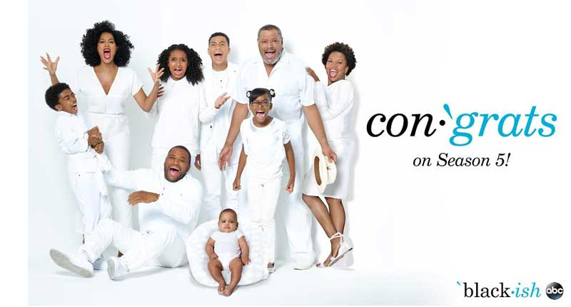 'Black-ish' Renewed for Season 5 By ABC
