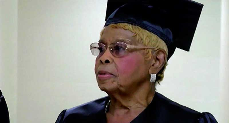 92-Year Old Earns Fourth College Degree